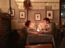 Bullerei dining couple