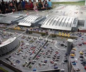 Miniatur Wunderland Hamburg airport parking lot