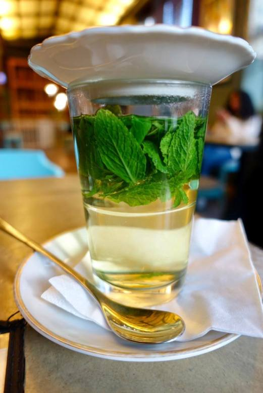 House of Small Wonder mint tea