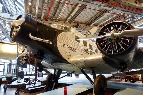 Deutsches Technikmuseum Lufthansa plane