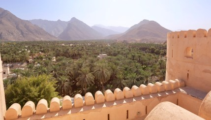 Nakhal Fort view