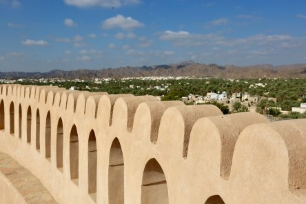 Nizwa Fort ramparts