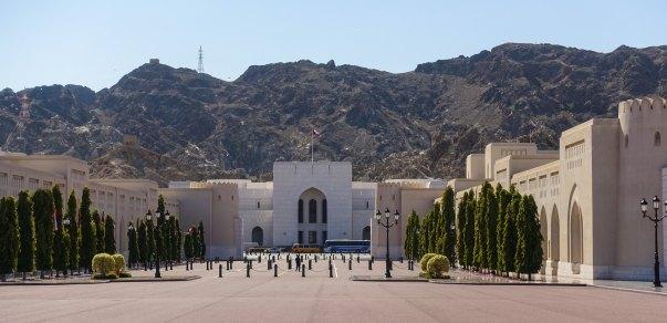 Muscat palace grounds