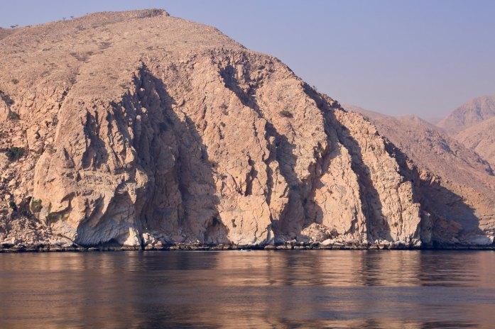 Six Senses Zighy Bay mountains on water