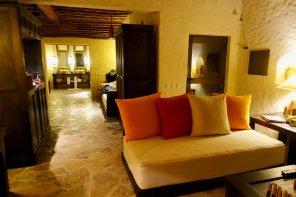 Six Senses Zighy Bay villa living room