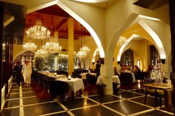 The Chedi Muscat dining room