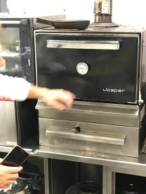 The Tubladel chef made a big deal of this special smoker they use and took us back in the kitchen to show us how well it work. Very compact. I want one.