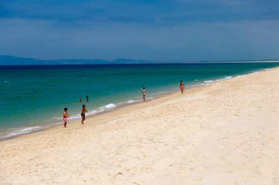 Pego Beach sand