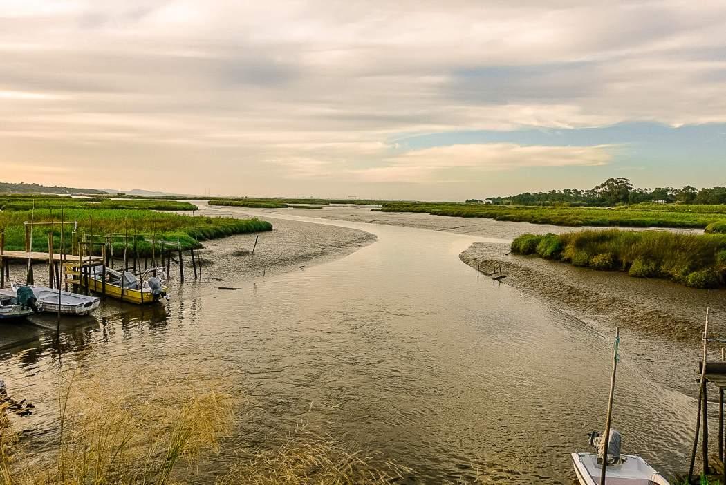 Estuary outside Comporta