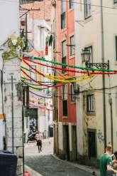 Lisbon Mouraria street
