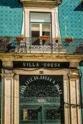 Lisbon tiled building