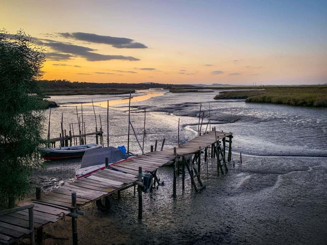 Comporta estuary dock
