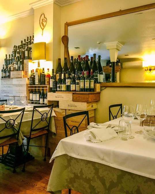 Horta dos Brunos tables