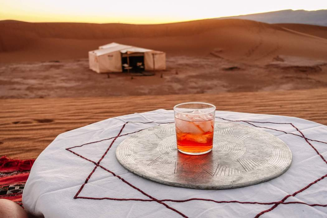 Negroni in the Sahara