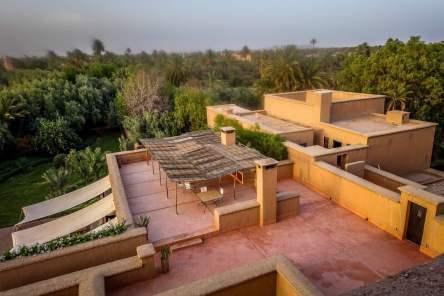 Dar Ahlam rooftop view