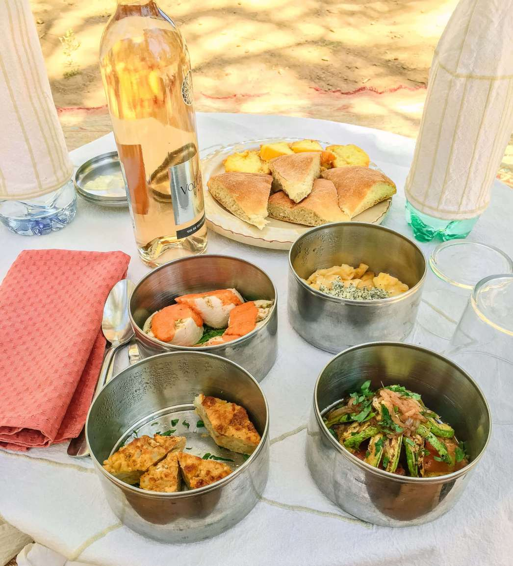 Dar Ahlam picnic lunch