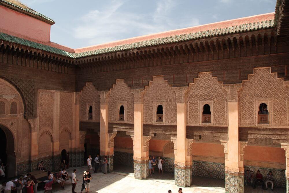 Ben Youssef Madrasa courtyard