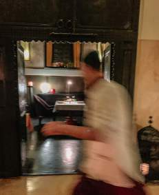 Riad 72 restaurant waiter