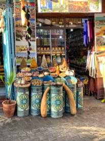 ceramics in the souk Marrakesh