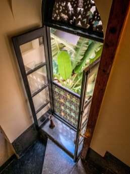 Riad 72 window view