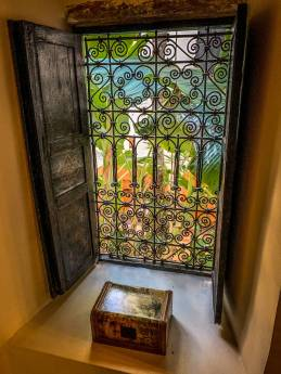 Riad 72 window