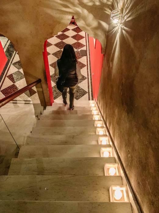 El Fenn stairs