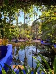 Jardin Majorelle pool