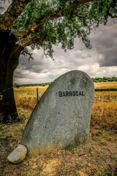 Sao Lourenco do Barrocal entrance sign