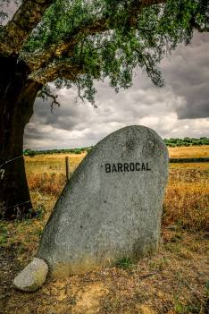 Sao Lourenco do Barrocal entrance sign