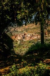 village view Kasbah Bab Ourika
