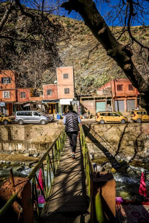 Bridge crossing Setti Fatma