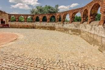 Sao Lourenco do Barrocal bullring walls