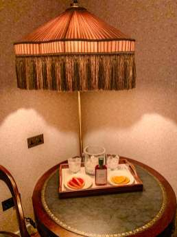 The Ned corner lamp