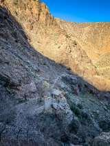 Trail down from Setti Fatma Waterfalls