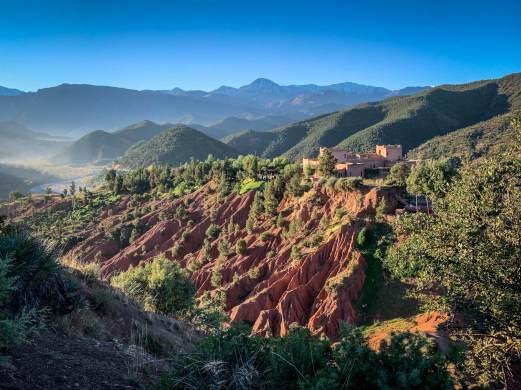 Kasbah Bab Ourika Morocco View