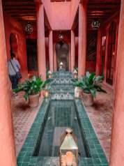 Le Jardin des Douars lobby