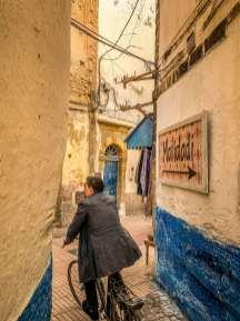 Essaouira Medina alleyway