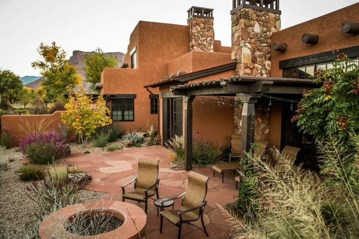 Gateway Canyons casita patio