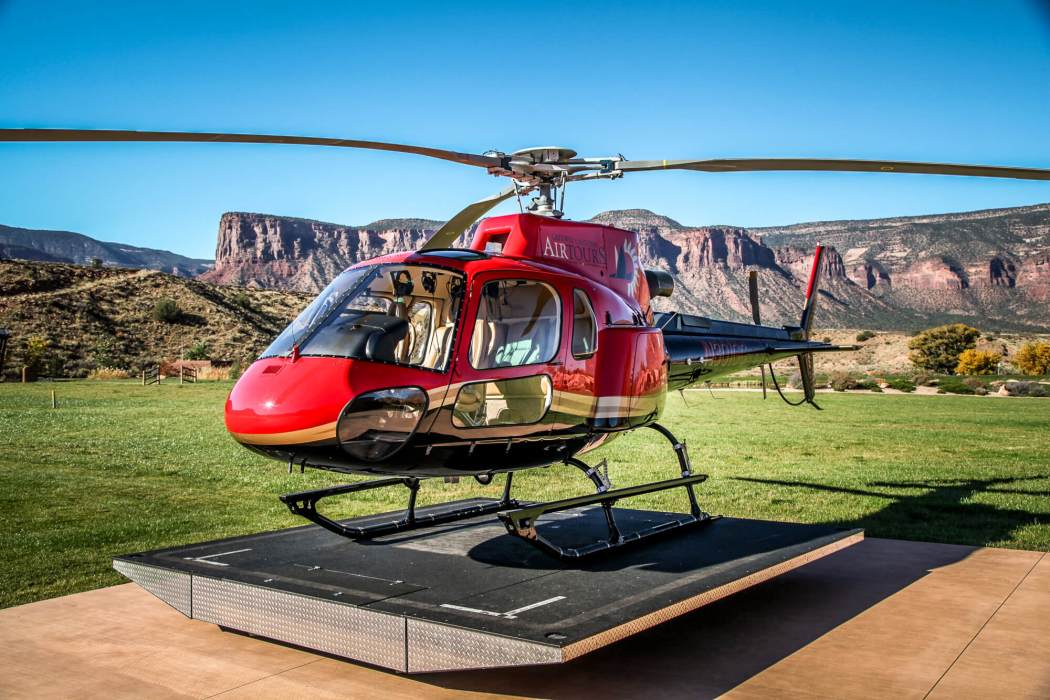 Gateway Canyon Air Tours helicopter