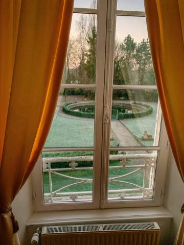 Château de Damigny window view