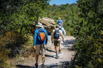 hikers Chiricahua National Monument