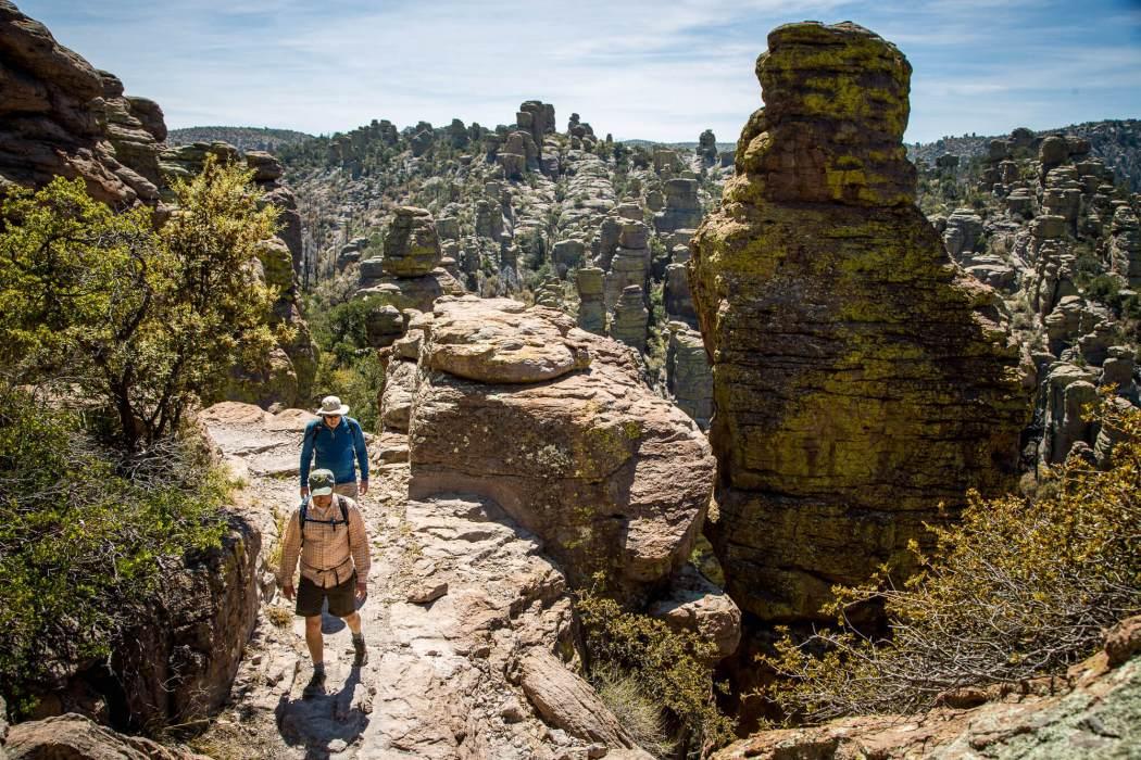 Hiking in Chiricahua National Monument