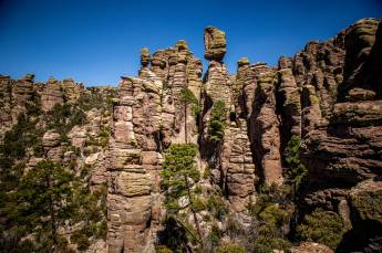 Chiricahua National Monument hoodoos