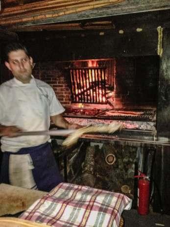 Parador La Huella grill