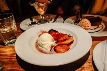 Marismo wood fired dessert