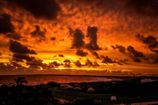 sunset clouds Jose Ignacio