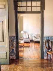 Palacio Ramalhete doorway