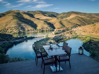 Vila Gale Douro restaurant v new