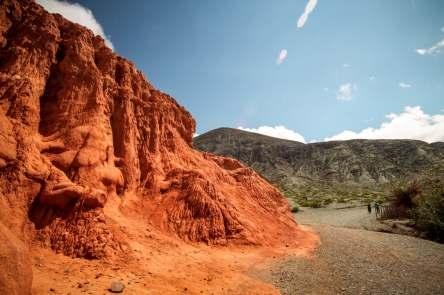 Amazing red colors Paseo de los Colorados