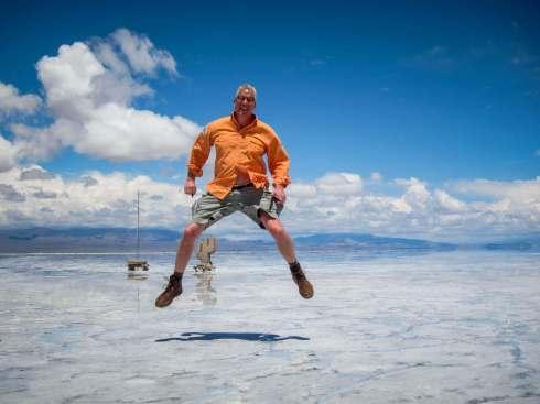 Jumping Salinas Grandes Argentina